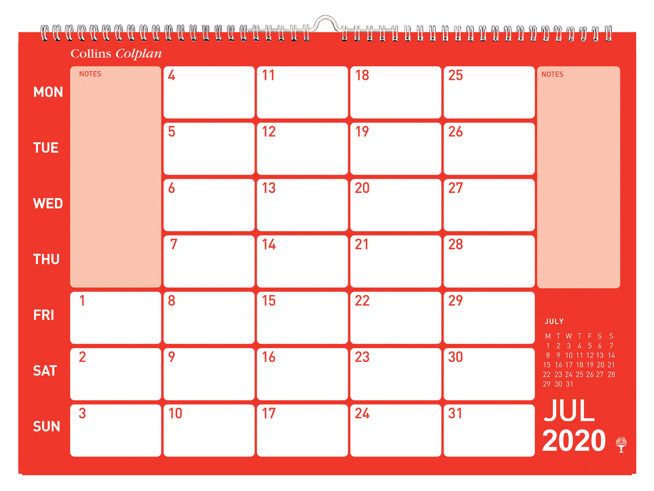Collins Colplan calendar Wall