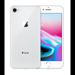 "Apple iPhone 8 11.9 cm (4.7"") 256 GB Single SIM 4G Silver"