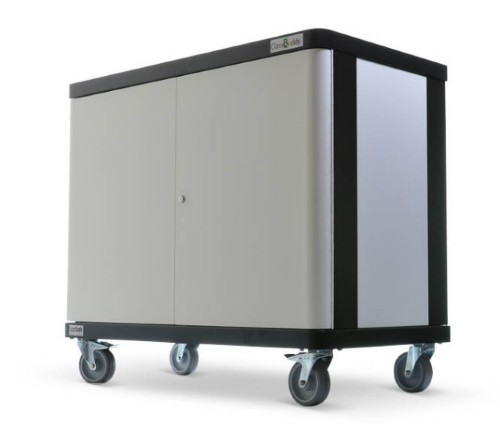 LapSafe ClassBuddy 20 Portable device management cart Black,Grey