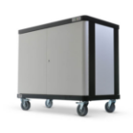 LapSafe ClassBuddy 20 Portable device management cart Black,Grey