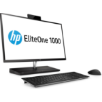 "HP EliteOne 1000 G2 68.6 cm (27"") 3840 x 2160 pixels 8th gen Intel® Core™ i5 8 GB DDR4-SDRAM 256 GB SSD Wi-Fi 5 (802.11ac) Black All-in-One PC Windows 10 Pro"