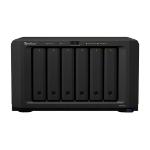 Synology DiskStation DS1618+ Ethernet LAN Desktop Black NAS