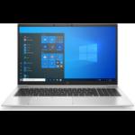 """HP EliteBook 850 G8 Notebook 39.6 cm (15.6"""") 1920 x 1080 pixels 11th gen Intel® Core™ i7 8 GB DDR4-SDRAM 256 GB SSD Wi-Fi 6 (802.11ax) Windows 10 Pro Silver"""