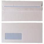White Box WB ENV S/S DL WDW 90GM WHT PK1000 960190
