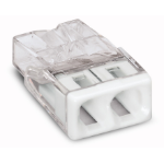 Wago 2273-202 cable splitter/combiner Transparent,White