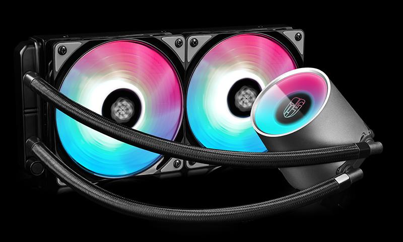 DeepCool Castle 240 RGB Processor liquid cooling