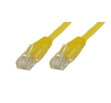 Microconnect CAT5e UTP 3m 3m Cat5e U/UTP (UTP) Yellow networking cable