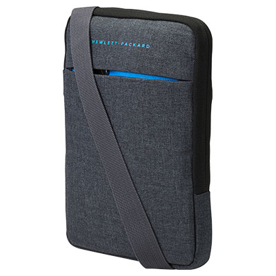 "HP L0W35AA 9"" Sleeve case Black,Grey"
