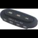 MCL USB2-H157/N nodo concentrador 480 Mbit/s Negro