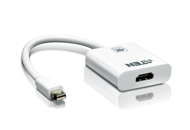 4K Active mini DisplayPortto HDMI converter, 3D,