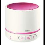 Leitz 63581023 Mono portable speaker 3W Metallic, Pink
