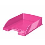 Leitz WOW desk tray Polystyrene Pink