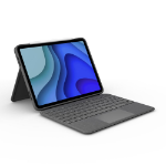 Logitech Folio Touch Grijs Smart Connector QWERTZ Duits