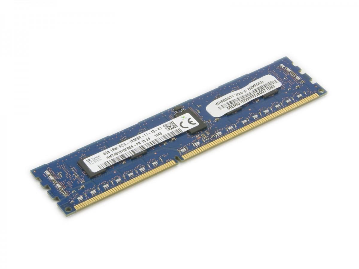 Supermicro MEM-DR340L-HL04-ER16 memory module 4 GB DDR3 1600 MHz ECC