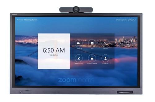 "Avocor ALZ-6510 touch screen monitor 165.1 cm (65"") 3840 x 2160 pixels Black Multi-touch"