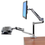 Ergotron WorkFit 45-405-026 flat panel desk mount