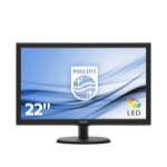 "Philips V Line 223V5LSB2/00 computer monitor 54.6 cm (21.5"") 1920 x 1080 pixels Full HD LCD Black"