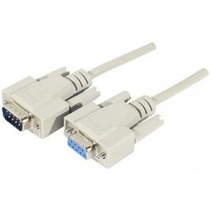 EXC 128420 serial cable White 5 m DB9