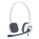 Logitech H150 Binaural Head-band White headset 981-000350