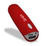 Ghia GAC-050 Ión de litio 2500mAh Rojo batería externa dir