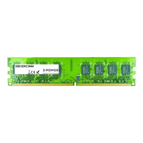 2-Power 2GB DDR2 800MHz DIMM