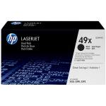 HP Q5949XD (49XD) Toner black, 6K pages, Pack qty 2