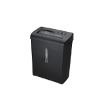 Ednet 91607 paper shredder Cross shredding 22 cm Black