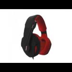 Approx appSNAKE Binaural Head-band Black,Red headset