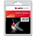 AgfaPhoto APCCLI551XLB ink cartridge Photo black 1 pc(s)