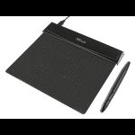 Trust 21259 graphic tablet 140 x 100 mm USB Black