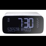 Pure Siesta Rise S radio Clock Digital Grey,White