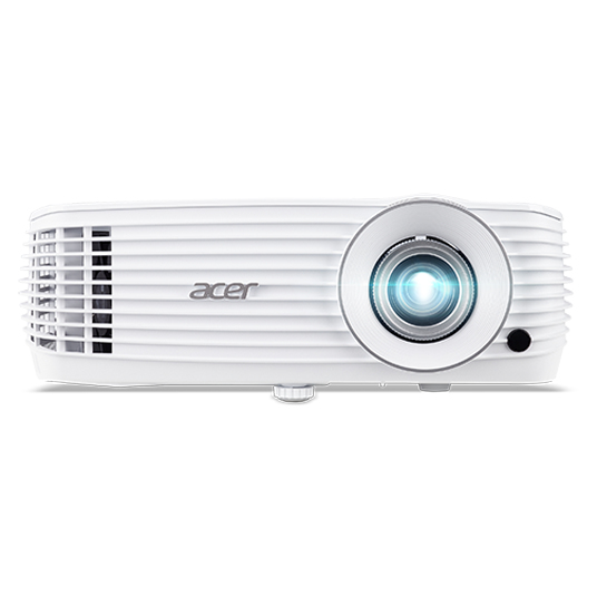 Acer MR.JQK11.001 beamer/projector 3500 ANSI lumens DLP 2160p (3840x2160) Desktopprojector Wit
