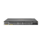Hewlett Packard Enterprise Aruba 3810M 40G 8 HPE Smart Rate PoE+ 1-slot Switch Managed L3 Gigabit Ethernet (10/100/1000) Black 1U Power over Ethernet (PoE)