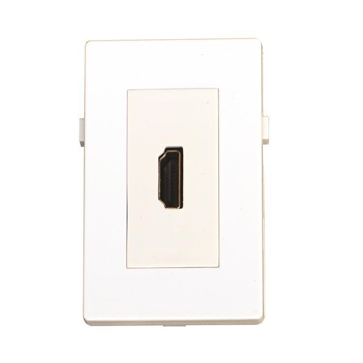 GARBOT HDMI MODULE - ANGLED. F/F. 20 CM. WHITE