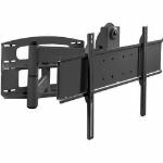 "Peerless PLAV60-UNL 65"" Black flat panel wall mount"