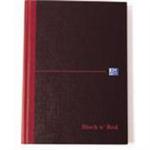 Black n' Red BLK N RED MANUBK 297X140MM FT 100080528