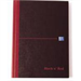 Black n' Red Book Casebound 90gsm Ruled 192pp One-third xA3 Ref 100080528 [Pack 5]