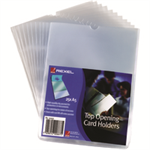 Rexel Card Holders A5 Clear (25)