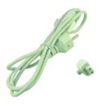 2-Power PWR0001W-EU Power plug type C White power cable