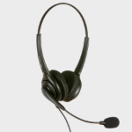 JPL 502PB Binaural Head-band Black headset