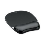 Fellowes 9112101 Black mouse pad