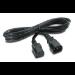 APC C13/C14 2.5m cable de transmisión Negro 2,5 m C14 acoplador C13 acoplador