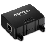 Trendnet TPE-104GS Power over Ethernet (PoE) Black network splitter