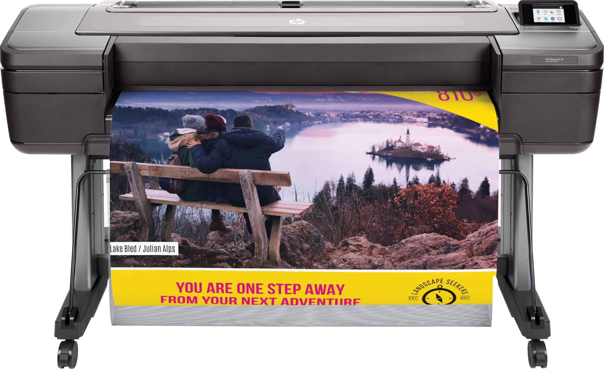 HP Designjet Z6 44-in PostScript Printer large format printer Thermal inkjet Colour 2400 x 1200 DPI
