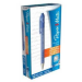 Papermate Flexgrip Ultra Clip-on retractable ballpoint pen Fine Blue 12pc(s)