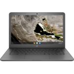 "HP Chromebook 14A G5 Grijs 35,6 cm (14"") 1920 x 1080 Pixels Touchscreen 7th Generation AMD A4-Series APUs A4-9120C 4 GB DDR4-SDRAM 32 GB eMMC"