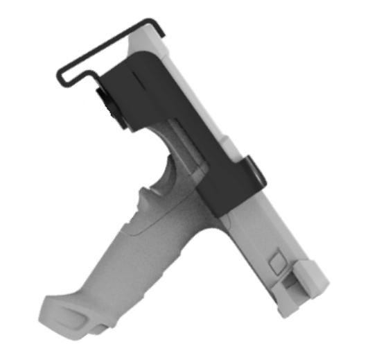 Zebra MNT-MC93-FLCH-01 soporte Equipo móvil portátil Negro, Gris Soporte pasivo