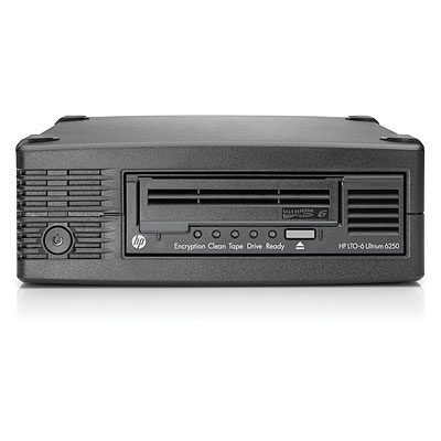 Hewlett Packard Enterprise StoreEver LTO-6 Ultrium 6250 External tape drive 2500 GB