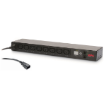 APC AP7920B power distribution unit (PDU) 8 AC outlet(s) 0U/1U Black