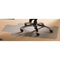 Floortex FF PVC HARD FLOOR CHAIRMAT/ LIP 92X121CM